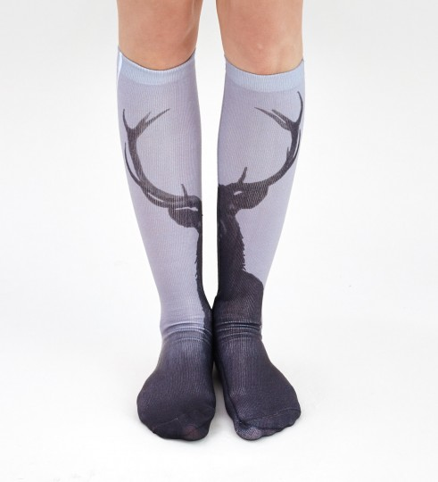 Wild Deer knee socks Thumbnail 2
