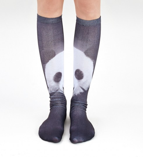 Panda knee socks Thumbnail 2