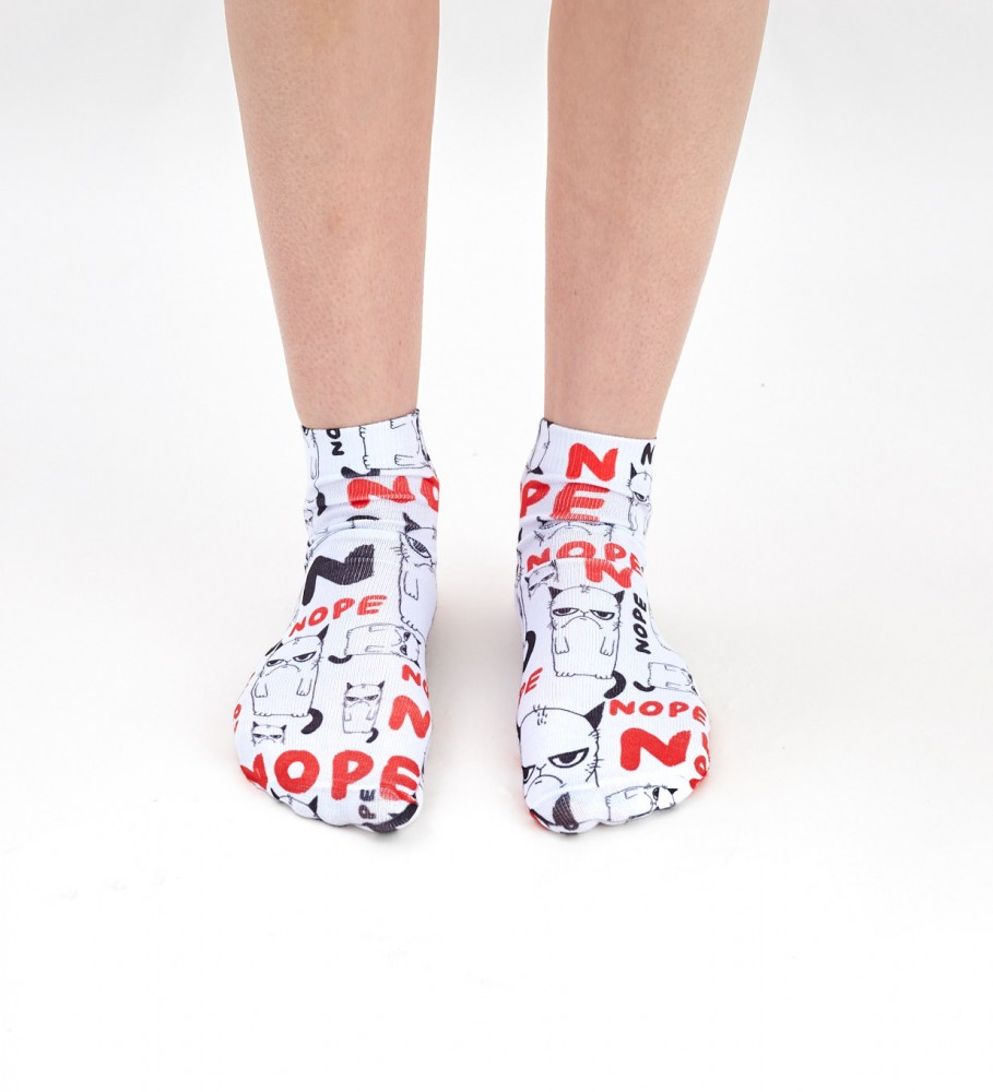 Mr. Gugu & Miss Go, Grumpy Nope chaussettes Image $i
