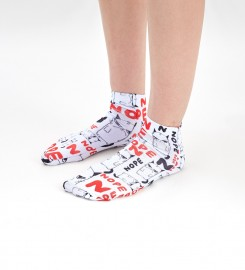 Mr. Gugu & Miss Go, Grumpy Nope chaussettes Miniature $i