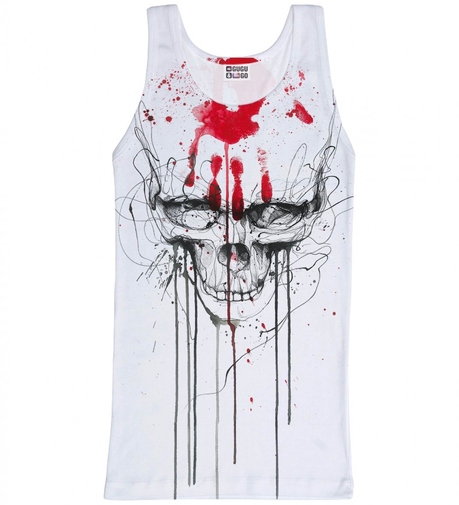 Mr. Gugu & Miss Go, Skull & Hand tank-top Image $i