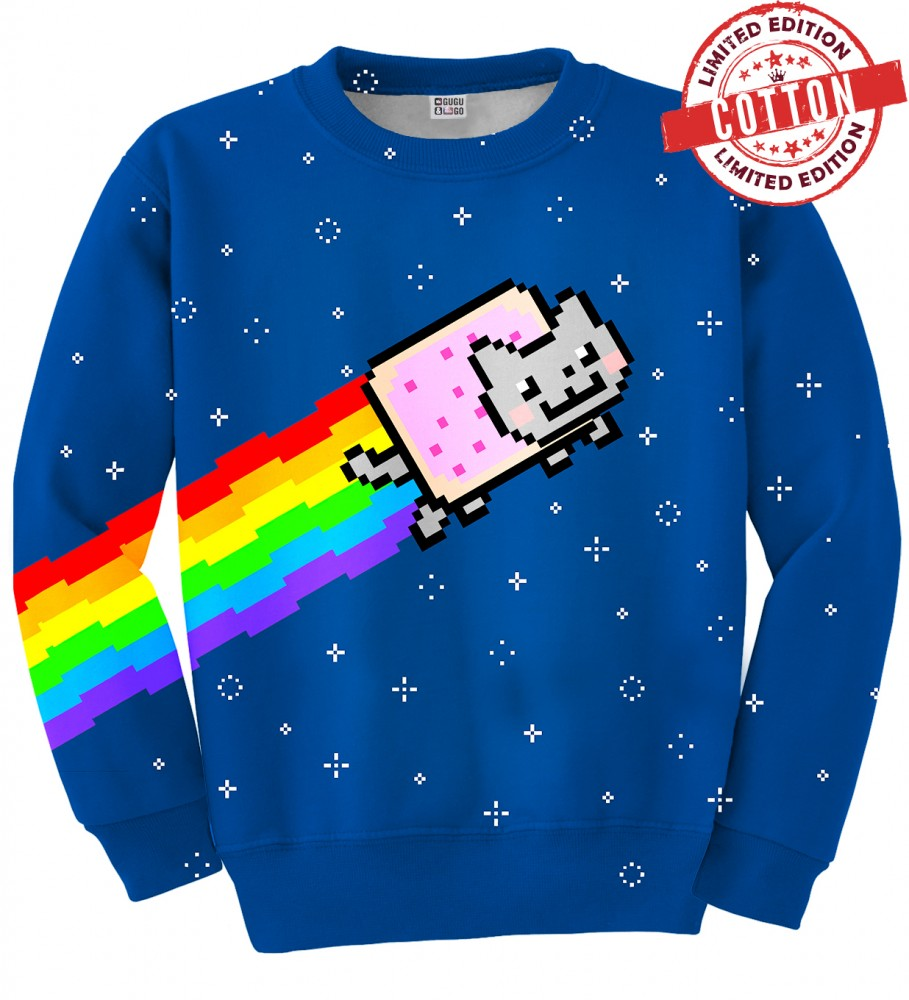 Mr. Gugu & Miss Go, NYAN cotton sweater Image 1