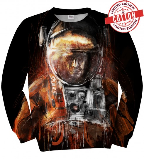 Astronaut cotton sweater Miniature 1