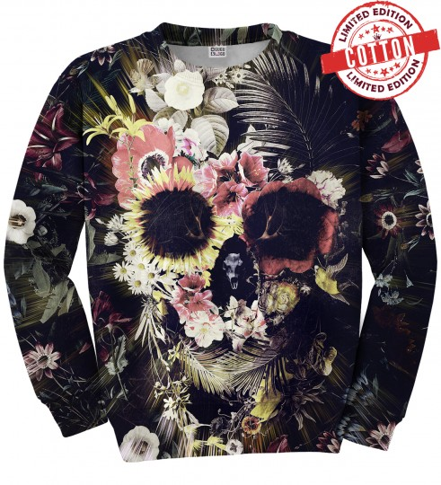 Memento Mori cotton sweater Miniature 1