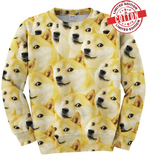 Doge cotton sweater Miniature 1