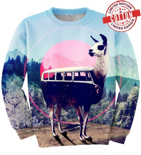 Volkswagen Lama cotton sweater Miniature 1