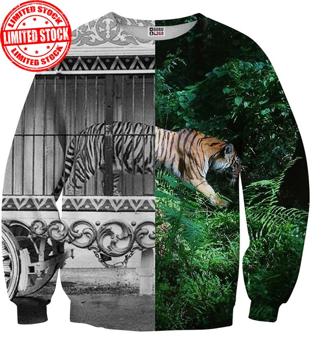 Tiger Cage sweater Miniature 1