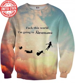 Mr. Gugu & Miss Go, I'm going to Neverland sweater Thumbnail $i