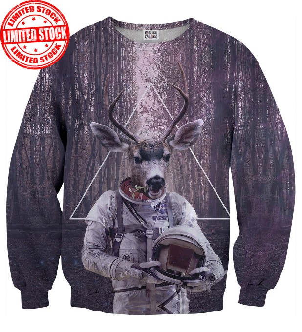 Birds Astrodeer sweater Miniature 1