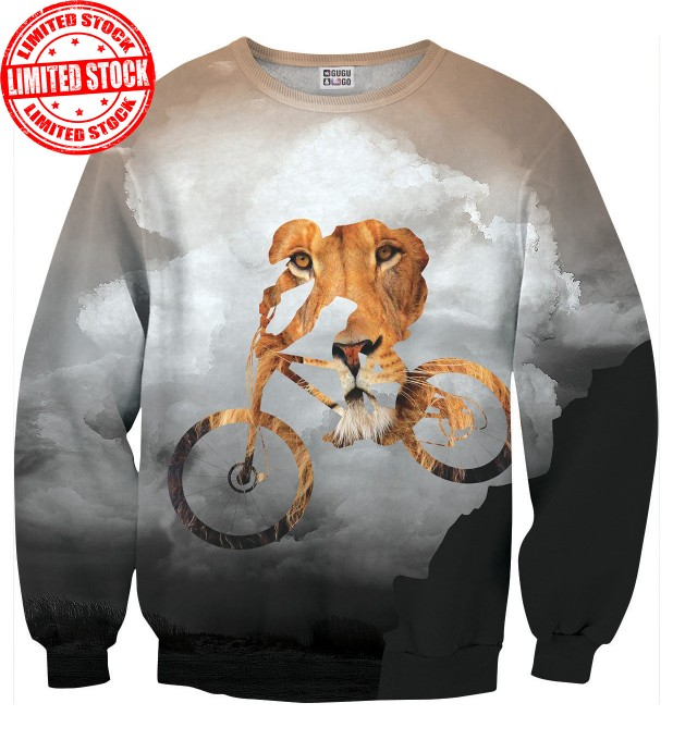 Bike Lion sweater Thumbnail 1