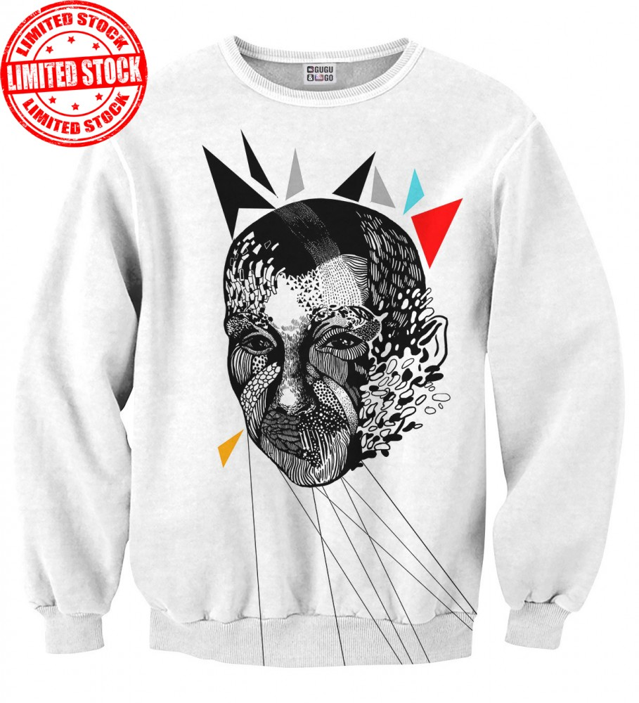 Mr. Gugu & Miss Go, Odd Face sweater Image $i