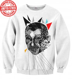 Mr. Gugu & Miss Go, Odd Face sweater Miniature $i