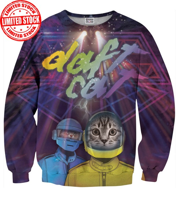 Daft Cat sweater Miniature 1