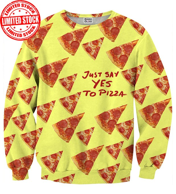 Leopard sweaterYes to pizza sweater аватар 1