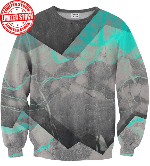 Marble Cyan sweater Miniature 1