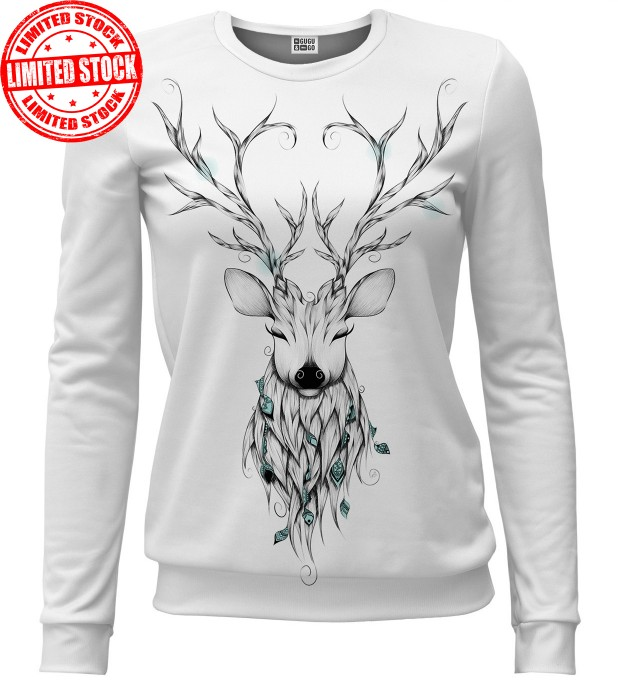 Deer sketch sweater Miniature 1