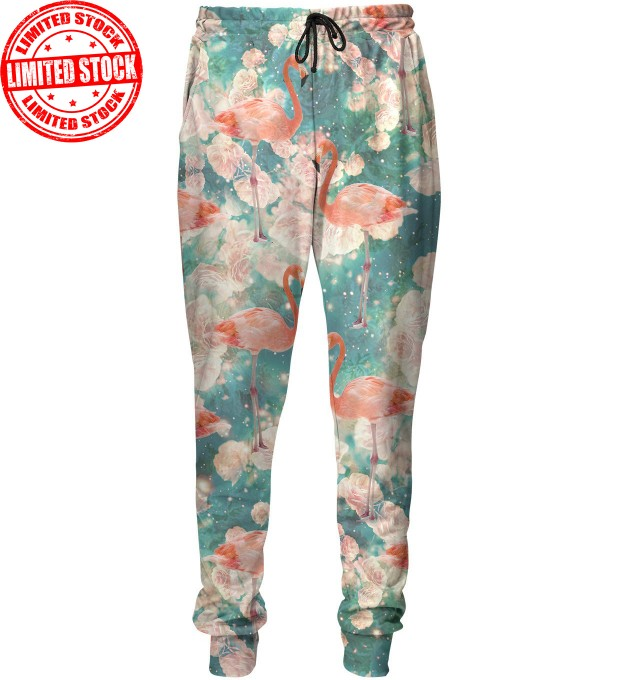 Flamingos sweatpants Miniature 1