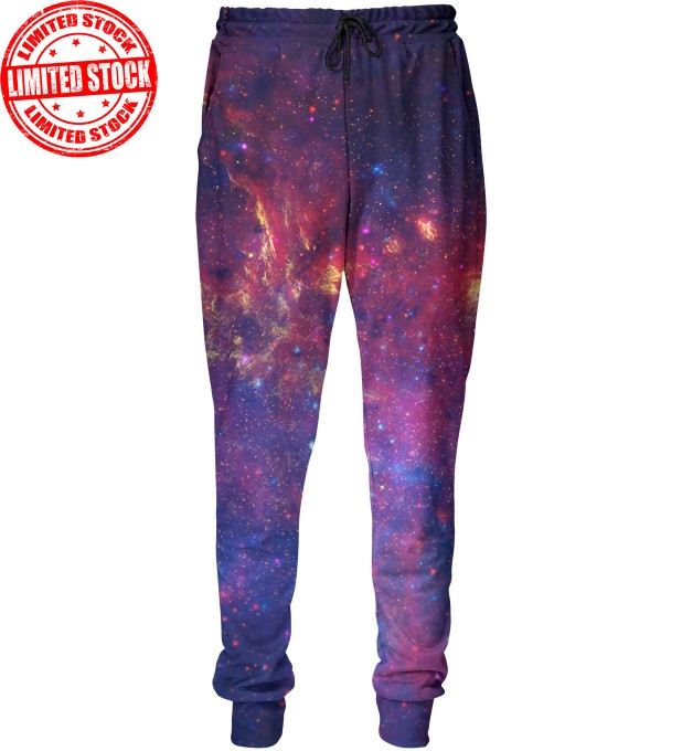 Purple nebula sweatpants Miniature 1
