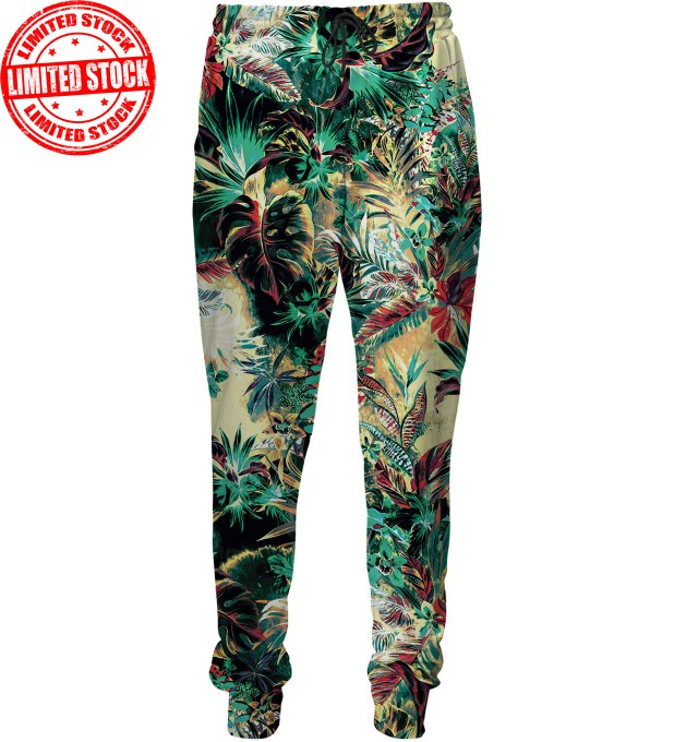 Tropical Jungle sweatpants Miniature 1