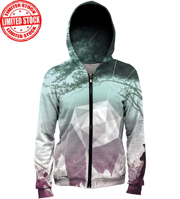 Tree Diamond hoodie Miniature 1