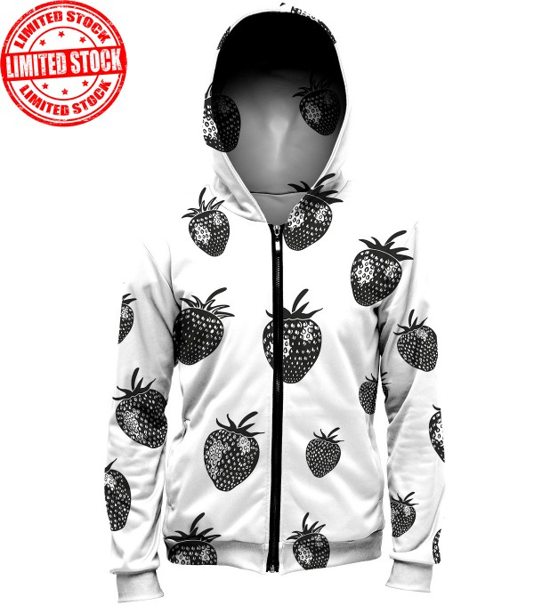 strawberries2 hoodie Thumbnail 1