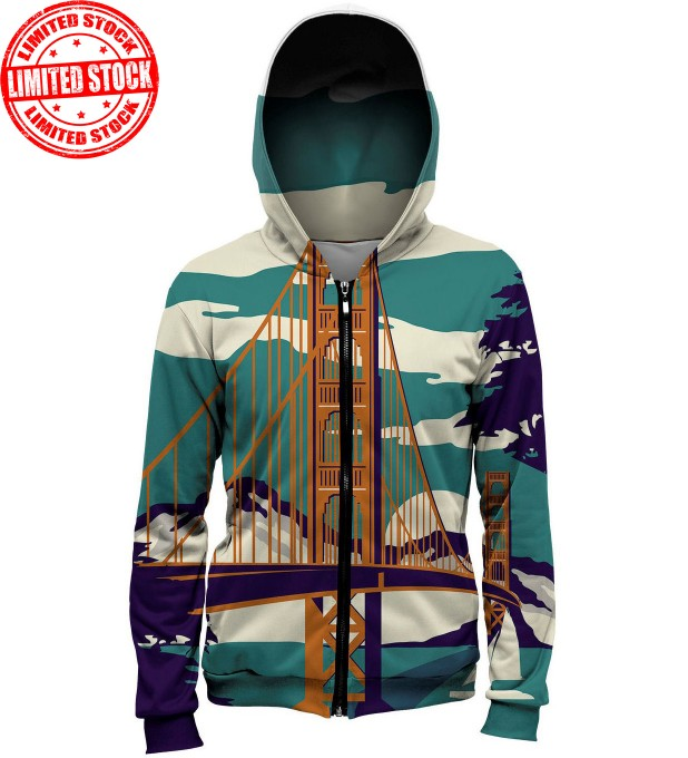 Golden Bridge hoodie Miniature 1