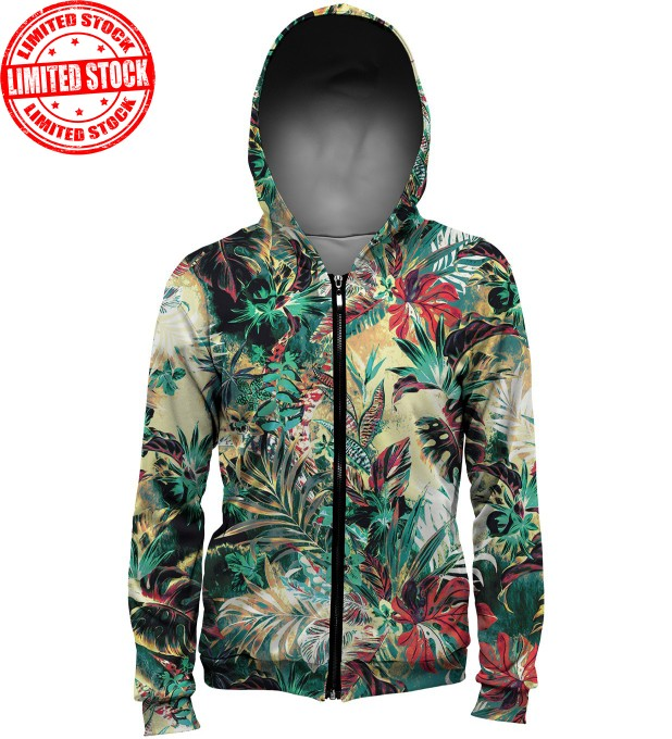 Tropical Jungle hoodie Miniature 1