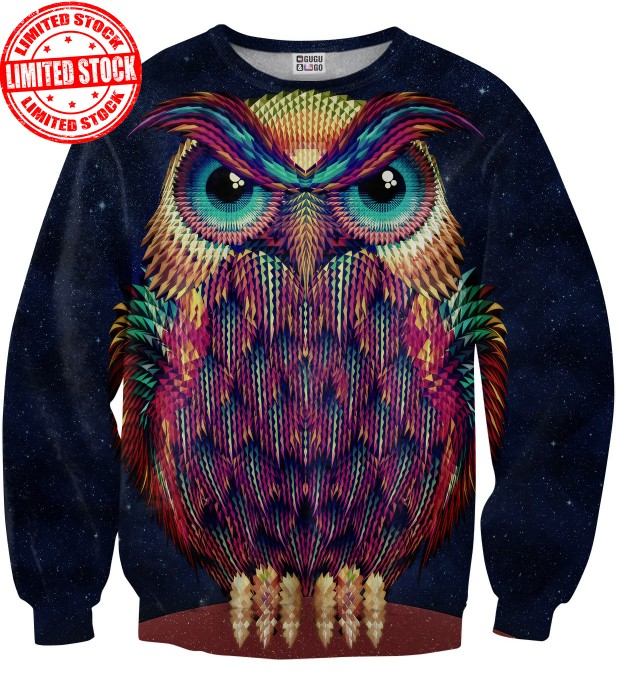 Space Owl sweater Miniatura 1