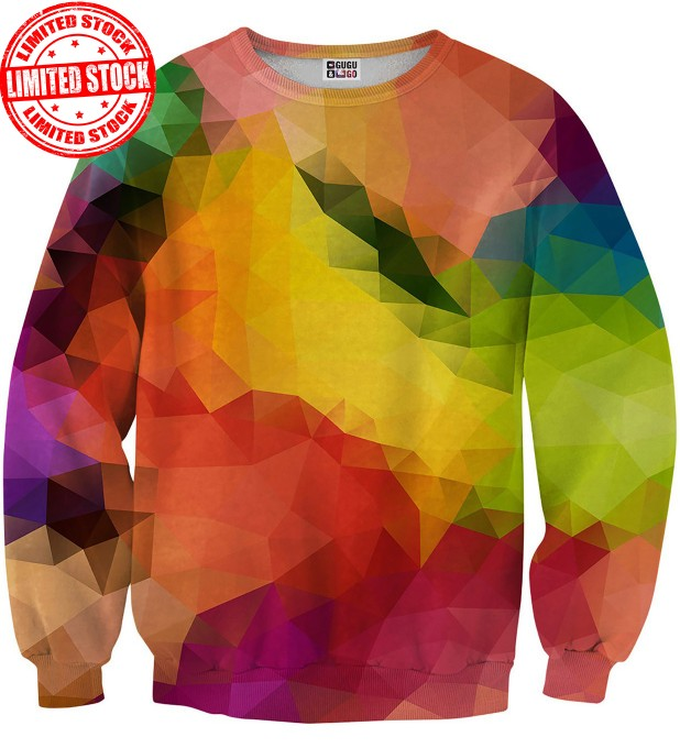 Colorful Geometric sweater Miniature 1