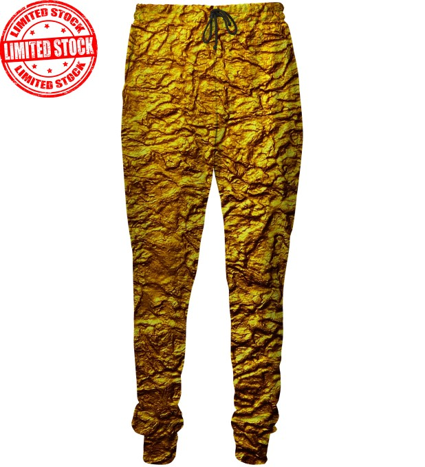 Gold sweatpants Miniature 1