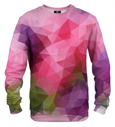 Violet geometric sweater Thumbnail 1