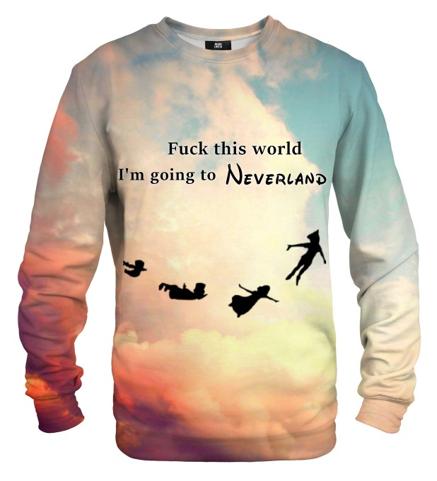 I'm going to Neverland sweatshirt Miniaturbild 2