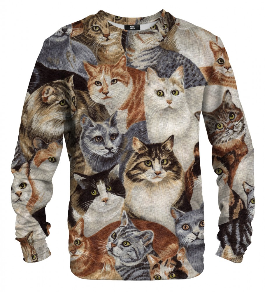 Cats Sweater Mr Gugu Miss Go