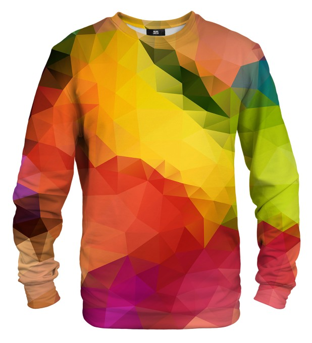 Colorful Geometric sweatshirt Miniaturbild 1