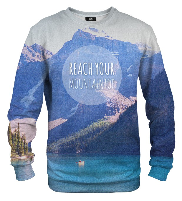 Mountain sweatshirt Miniaturbild 1
