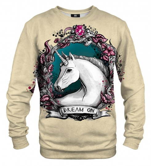 Unicorn portrait sweater Thumbnail 1