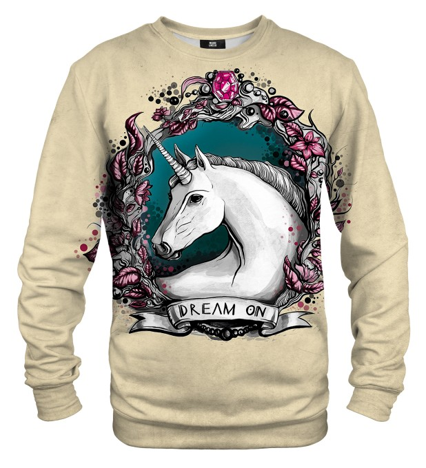 Unicorn portrait sweater Miniatura 1