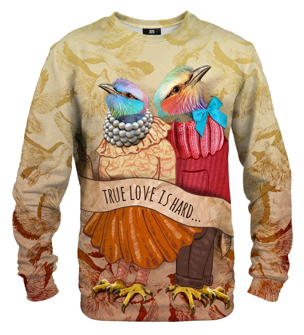 Love Birds sweatshirt Miniaturbild 1