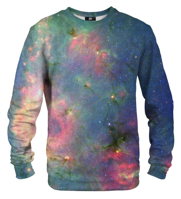 Green Nebula sweater Thumbnail 1