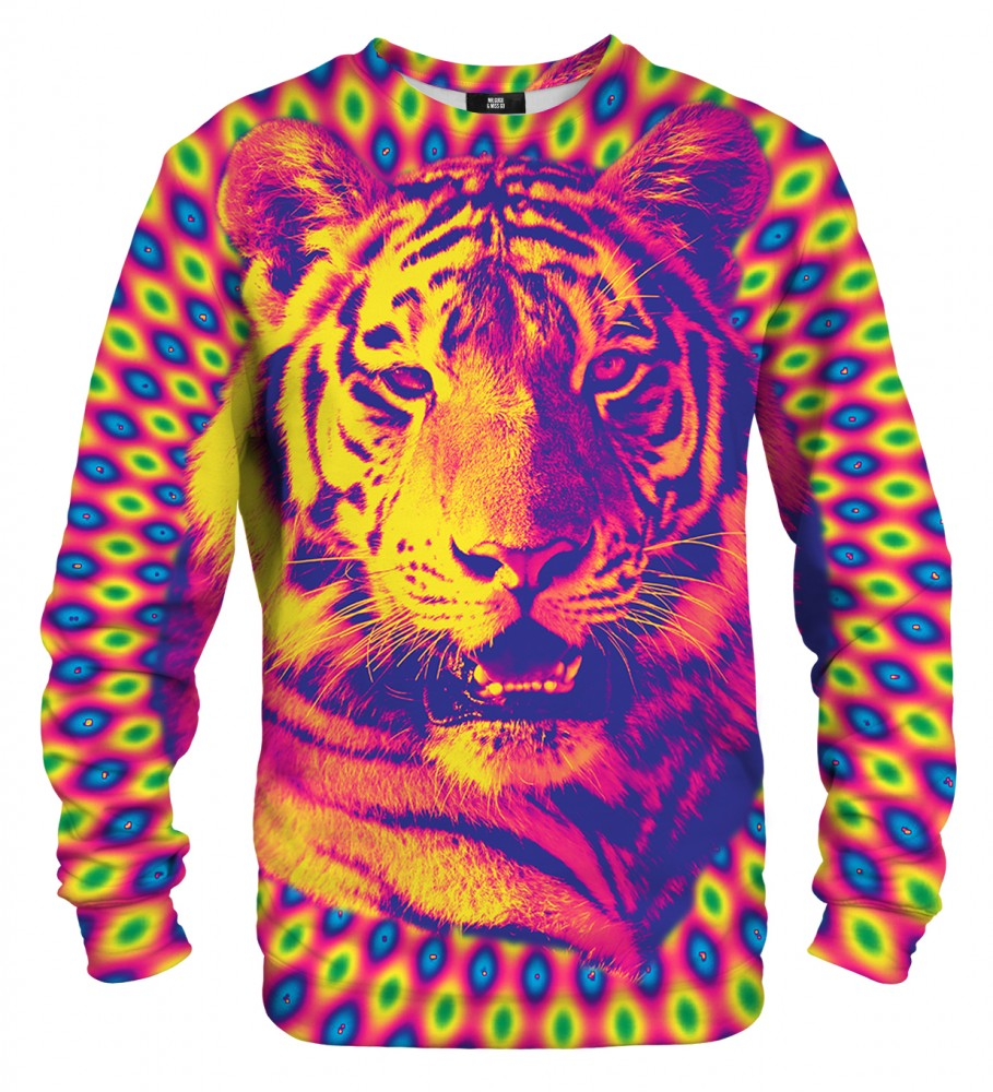 Mr. Gugu & Miss Go, Crazy Tiger sweater Image $i