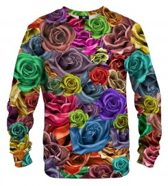 Mr. Gugu & Miss Go, Colorful Roses sweater Miniature $i