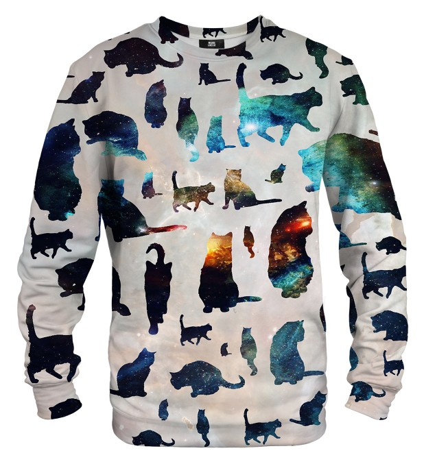 Galaxy Cats sweatshirt Miniaturbild 1