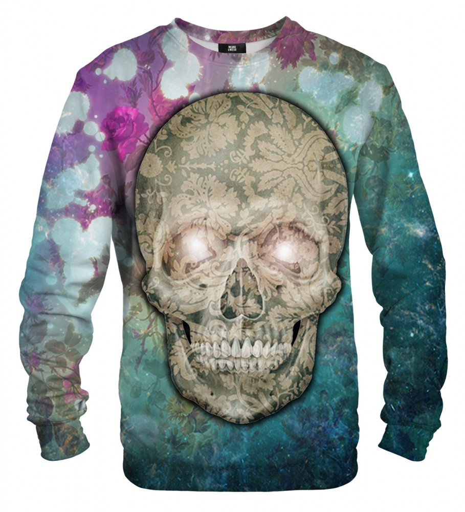 Mr. Gugu & Miss Go, Flower Skull sweater Image $i