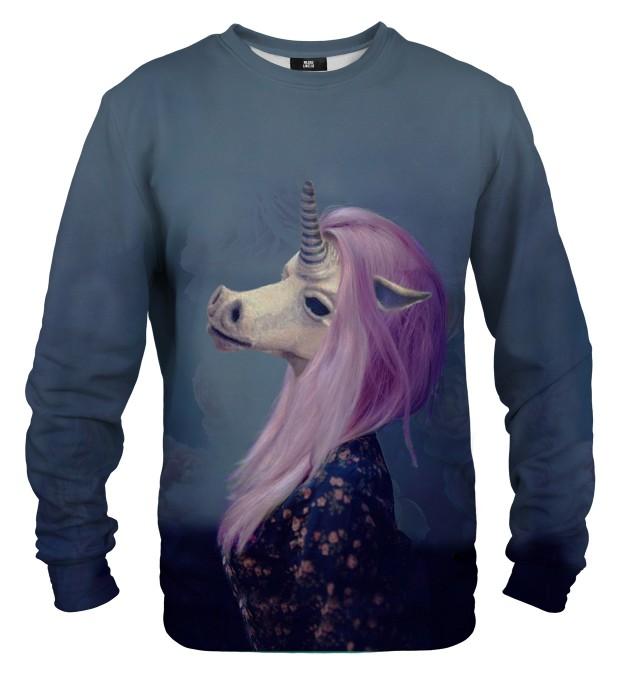Creepy Unicorn sweater Thumbnail 1