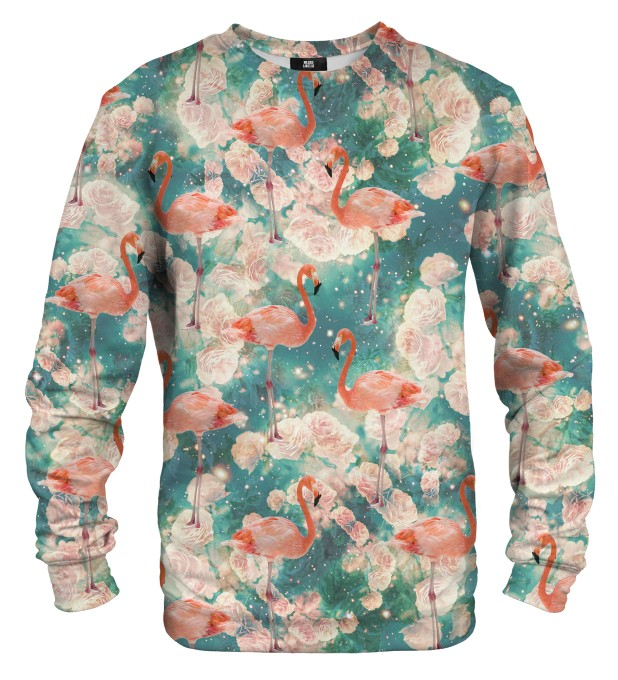 Flamingos sweater Thumbnail 1
