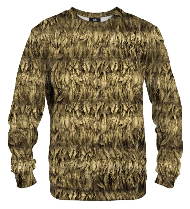 Gold Feather sweater Thumbnail 1