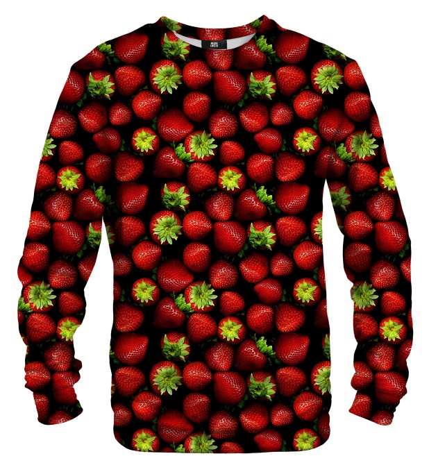 Strawberries sweatshirt Miniaturbild 1