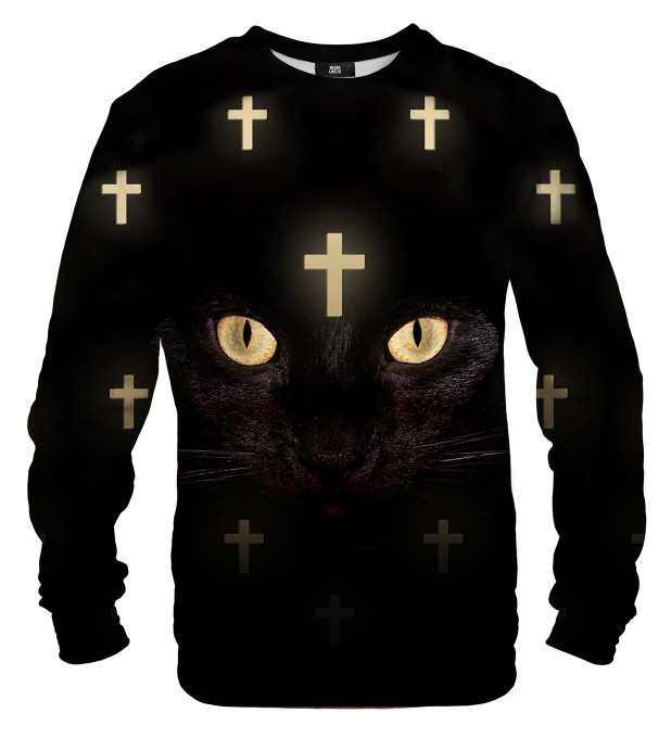 Cross Cat Net sweater Thumbnail 1