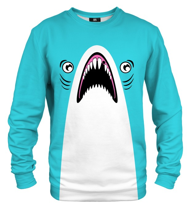 Blue shark sweater Thumbnail 1