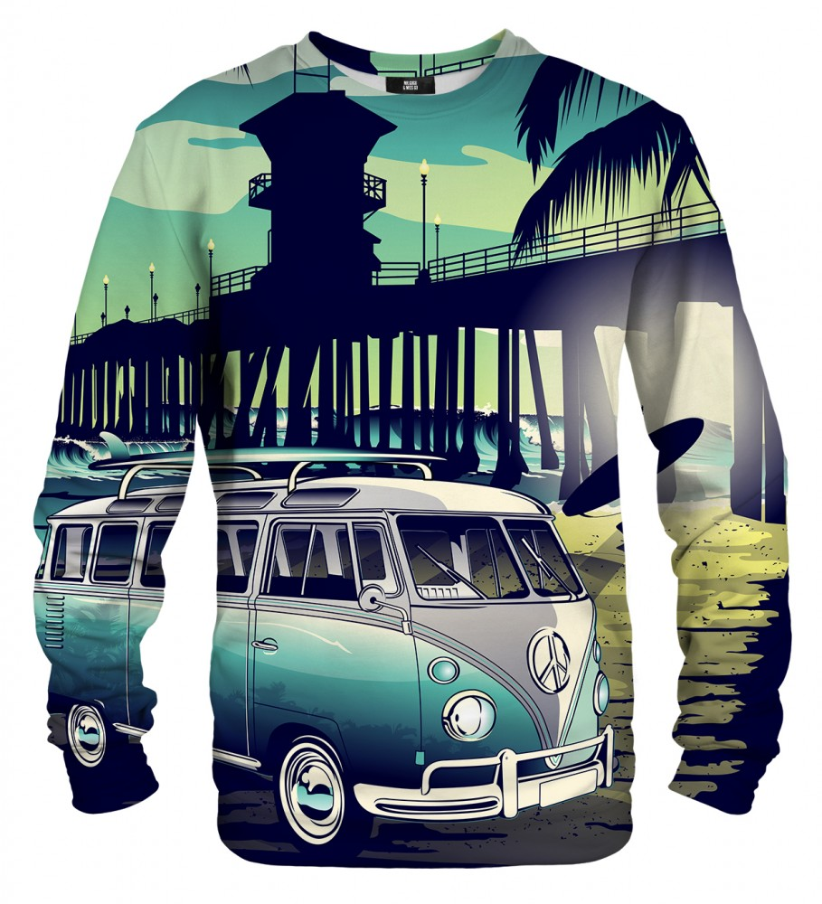 Mr. Gugu & Miss Go, California life sweater Image $i